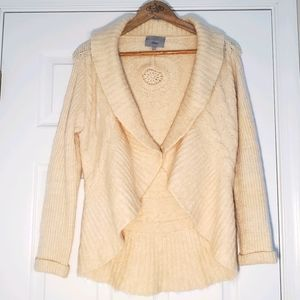 Per Una Mohair Wool Blend Drape Cardigan